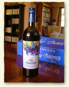 Irvine Wine: The Baroness